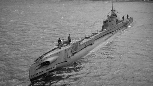 Submarino de la clase T, HMS Trident, gemelo del HMS Tarpoon