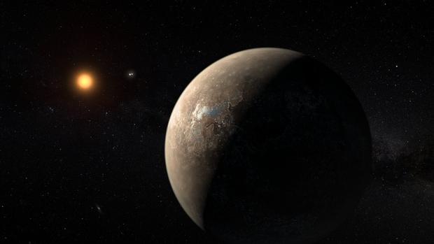 Representación artística de Próxima b, una potencial Tierra detectada cerca de Próxima b - NASA