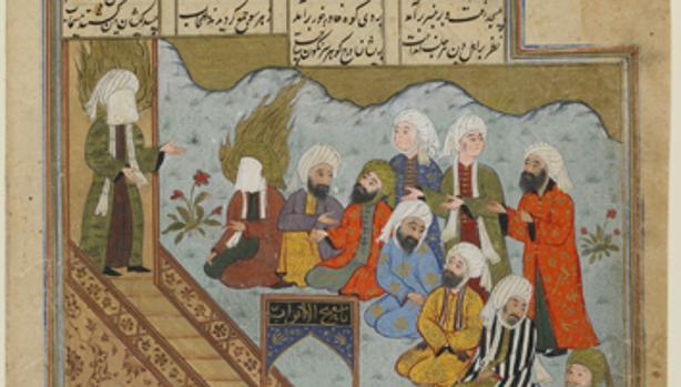 Mahoma predica después de la Batalla de la Trinchera, según un autor anónimo - ABC