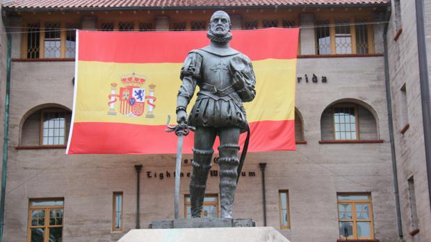 Monumento a Pedro Menéndez de Avilés en San Agustín - Manuel Trillo