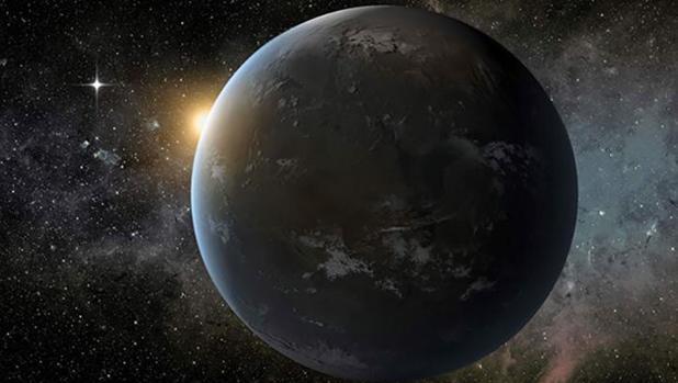 La ilustración muestra el aspecto de este nuevo planeta extrasolar - NASA/Ames/JPL-Caltech