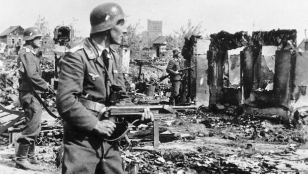 Soldado alemán en Stalingrado - Bundesarchiv