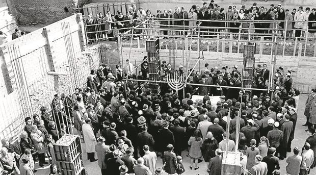 Se estima que actualmente viven la Comunidad de Madrid en torno a 10.000 judíos - ARCHIVO ABC