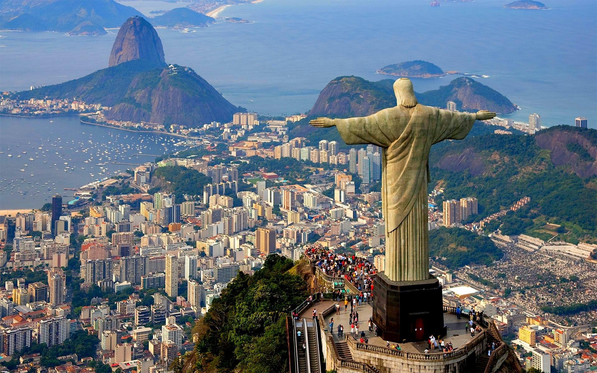 El Cristo Redentor en Rio de Janeiro, Brasil   www.elhistoriador.es